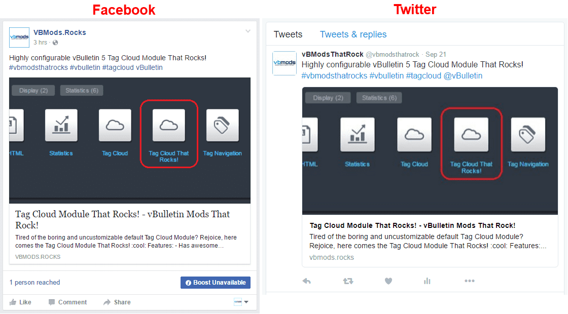 Open Graph Meta Tags for Facebook and Twitter and all social